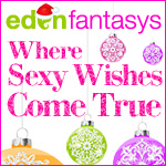Christmas gifts from EdenFantasys - the shop you can trust!