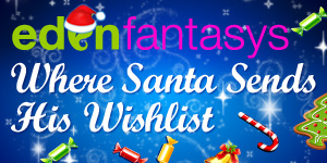 Sexy Christmas gifts from EdenFantasys - the sex toys shop you can trust!