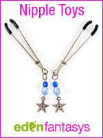 Vibrating nipple clamps - Nipple clamps - EdenFantasys