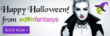 Spooky. Sexy. Fun. Happy Halloween from EdenFantasys!