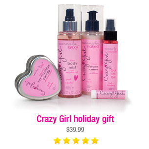 Crazy Girl holiday gift