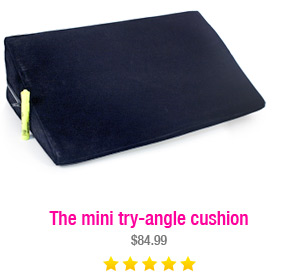 The mini try-angle cushion