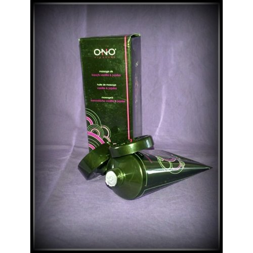 Ono Pleasure Massage Oil FV&SB- packaging
