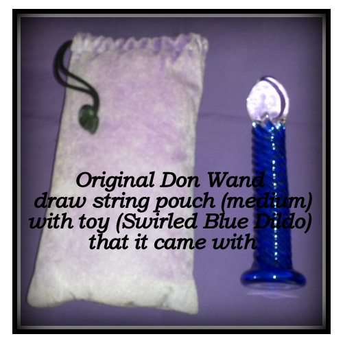 Don Wands Pouch Medium- It came with the toy!
