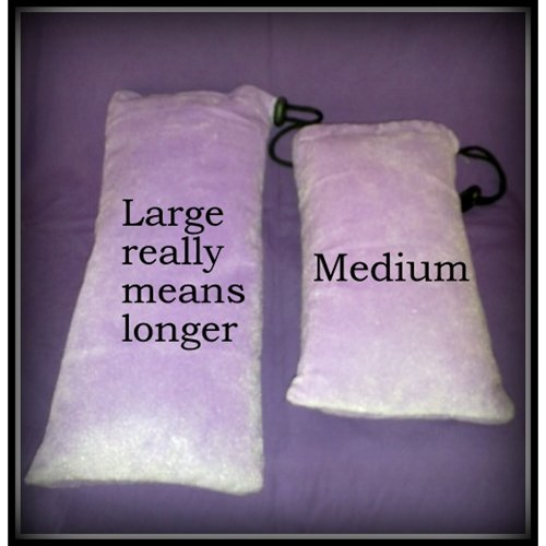 Don Wands Pouch Large vs Medium