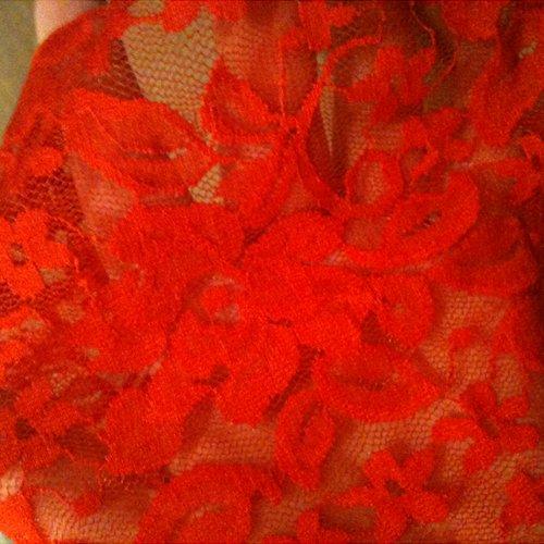 Lace design close up