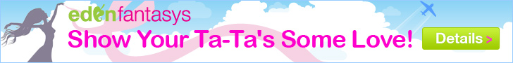 EdenFantasys supports Breast cancer Awareness - Show your Ta-Tas Some Love