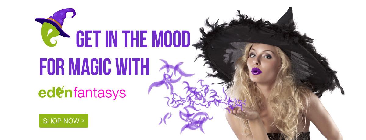Spooky. Sexy. Fun. Happy Halloween from EdenFantasys!