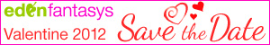Plan your St. Valentine\'s Day and save the date with EdenFantasys - the sex toys shop you can trust!