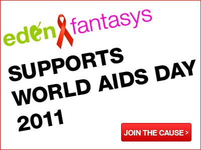 Edenfantasys supports World AIDS Day 2011. Join the cause